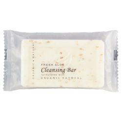 UNIVERSAL SOAPS & ACCESSORIES Cleansing Oatmeal Bar Soap 1.25oz Sachet Wrap