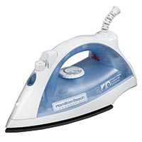 HAMILTON BEACH - 30 SECOND /15 MINUTE SHUT OFF IRON White/Blue smart iron 2 year warranty