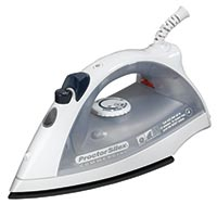 HAMILTON BEACH - 15 MINUTE SHUT OFF IRON 15 minute shut off capability, 2 year warranty.