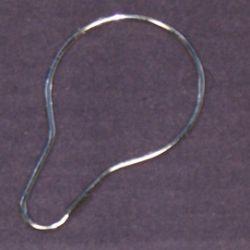 "PIN STYLE SHOWER CURTAIN HOOKS KA255 fits 1.5"" rod"