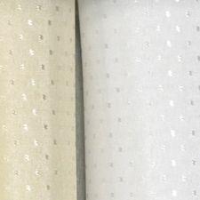 DOBBIE POLYESTER WHITE SHOWER CURTAIN SP3020-1