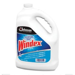 WINDEX READY-TO-USE WINDOW MIRROR AND GLASS CLEANER 4/1 gallon bottles