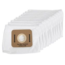 ATRIX BACKPACK VACUUM FILTER BAGS Packed: 10 each