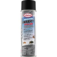 CLAIRE® BUG BUSTER INSECTICIDE For crawling and flying insects. 12/15oz aerosol cans