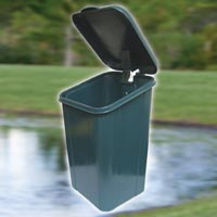 DOGIPOT® ACCESSORIES WASTE RECEPTACLE DP1208-C Green (1 Each)