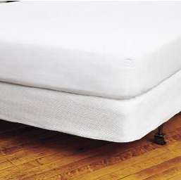 "COMFORT TERRY WATERPROOF MATTRESS PROTECTOR PADS Twin 39""x75""+15"" 12 per case 12oz fill"