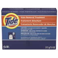 TIDE STAIN REMOVAL TREATMENT- LAUNDRY MACHINE STAIN TREATMENT Powder - Packed 14/9.1 oz.