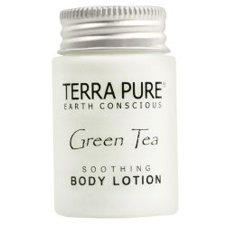 TERRA PURE GREEN TEA ORGANIC SOOTHING BODY LOTION 1oz packed 300