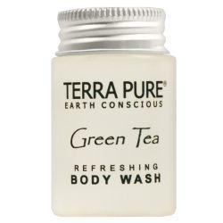 TERRA PURE GREEN TEA ORGANIC ENERGIZING BODY WASH 1oz packed 300