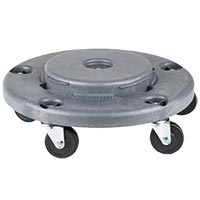 DOLLY FOR 32, 44 AND 55 GALLON ROUND CANS Grey