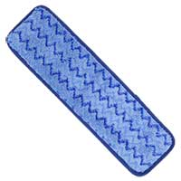 MAXIPLUS MICROFIBER WET MOPPING FINISH PAD WITH SCRUB STRIPS 5x18
