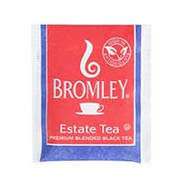 BROMLEY ESTATE FINE BLACK TEA BAGS 10 boxes of 100 individually wrapped tea bags.