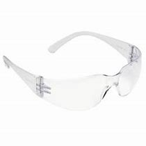 ECONOMY SCRATCH RESISTANT SAFETY GLASSES Sold individually. One size fit all.