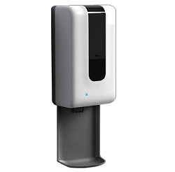 STAY SAFE™ TOUCH-FREE WALL MOUNT HAND SANITIZER DISPENSER Refillable. IN STOCK NOW!!!