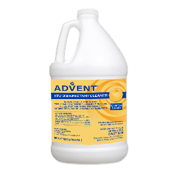ADVENT® RTU DISINFECTANT CLEANER Individual 1 Gallon. Approved for hard and soft surfaces!