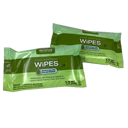 ACTIVA® 75% ALCOHOL HAND SANITIZER WIPES PACKETS Individual packet of 10 wipes.