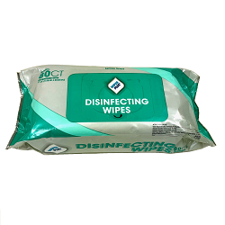 WIPES PLUS DISINFECTING SURFACE WIPES Individual pack of 80 wipes in re-sealable plastic packet