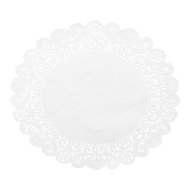 PAPER LACE DOILIES White, Rectangle Packed 1,000
