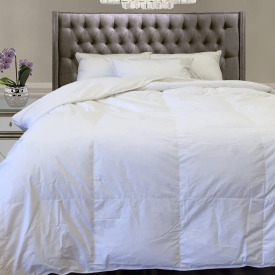 """*LUXURY KING  FP500 FEATHER COMFORTER T233 25%DOWN/75%FEATHER 33oz 104x95""""..."""