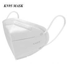KN95 PARTICULATE FILTRATION FACE MASKS WITH EAR LOOPS Packed 5 masks in sealed packet.